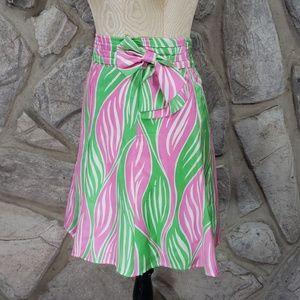 Lilly Pulitzer Silk Print Skirt